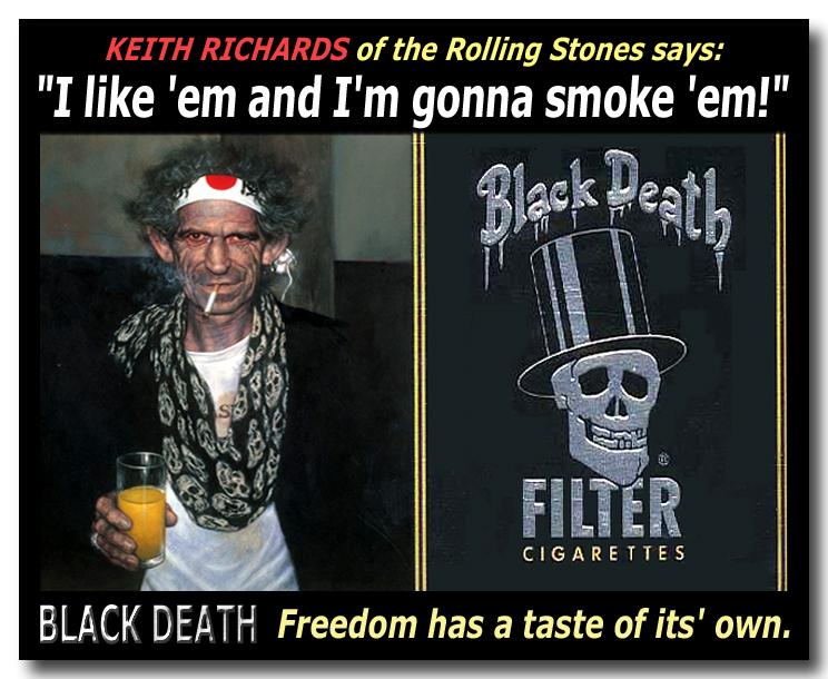 Black Death Cigarettes